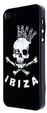 Pacha Ibiza Calavera King Diseño Duro Funda teléfono móvil para Apple iPhone 5