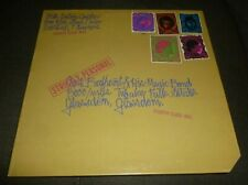 CAPTAIN BEEFHEART & HIS MAGIC BAND 33RPM LP STRICTLY PERSONAL WEIRD BLUE THUMB