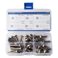 M6 Torx Pan Head Machine Screws Assortment Kit Pack of 36-piece Torx Bolt