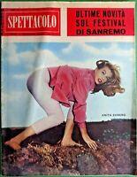 ANITA EKBERG - MASCOTTE,R@R@ RIVISTA DI SPETTACOLO-N.34 del 1960-RIF.7985