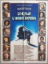 Affiche LE CRIME DE L'ORIENT-EXPRESS Murder on the Orient Express TRAIN 60x80cm