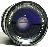 Soligor MC 35-70mm F2.5 / 3.5 Macro Zoom Lens Pentax PK Mount UK Fast Post
