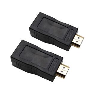 HDMI zu RJ45 Extender über Cat 5e / 6 Netzwerk LAN Ethernet Adapter XY