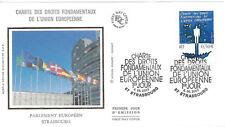 ENVELOPPE 1er JOUR FDC 2003 - N° 3555 - DROITS de l'UNION EUROPEENNE STRASBOURG