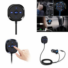 Aux Bluetooth Audio Receiver Cigarette Lighter Music MP3 Player 3.5mm Adapter