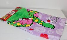 New Dorothy Dinosaur The Wiggles Hooded Beach Bath Towel Dancing Funtastic Gift