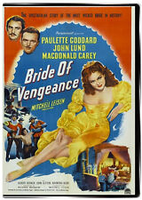 Bride of Vengeance 1949 DVD Paulette Goddard, John Lund, Macdonald Carey