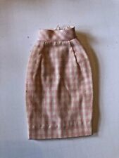 Vintage Tressy Doll Executive Sweet Outfit Pink Checkered Skirt Htf 1960s