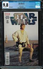 Star Wars #1 CGC 9.8 Movie Variant 2015 1:15 Luke Skywalker Mark Hamill