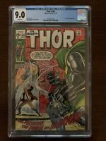 The Mighty Thor #182 CGC 9.0 (Marvel 1970)  Doctor Doom appearance!