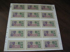 PRESS SHEET 2008 ANNIVERSARY OF COUNTRY DEFINITIVE MINIATURE SHEET UNCUT MSW125