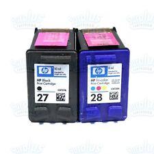 C93 HP 27//28 Original Inkjet Cartridge Combo Pack