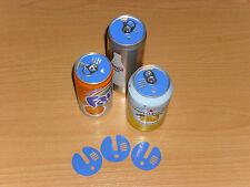 (0,70€/St) 6 Getränkedosen Deckel Verschlüsse Angeln Garten Dose Bier Cola