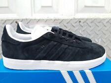NEW IN THE BOX ADIDAS GAZELLE STITCH AND TURN CQ2358 BLACK FOR MEN