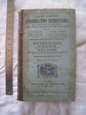 """H. TIVIER et A. RIQUIER: """"Mythologie."""" 1889. Bel Etat"""