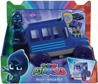 PJ Masks Night Ninja Bus + Articulate Figure Toy Toys Car Vehicle Play New Boxed