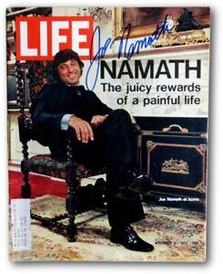 Joe Namath Signed Autographed LIFE Magazine 11/3/72 NY Jets JSA V68011