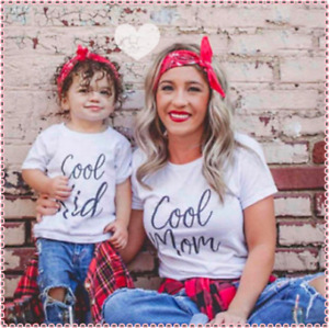 Mutter Tochter outfits COOL tshirt mama Tochter mother daughter COOL tshirt