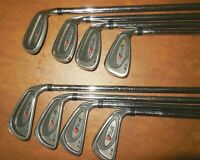 WILSON STAFF FS IRONS 3-9+PW / WILSON FAT SHAFT REGULAR FLEX STEEL SHAFTS / RH