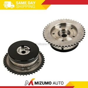 Pair Intake Exhaust Variable Timing Sprocket Cam Camshaft Gear Fits GM 2.2L 2.4L