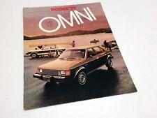 1979 Dodge Omni Brochure