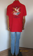 Polo Ralph Lauren Custom Fit Embroidered US Flag Eagle Polo Shirt Size XL ~$185~