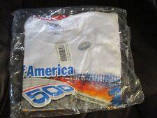 NASCAR Bank of America 500 Motor Speedway WHITE  T-Shirt - Men's M NEW