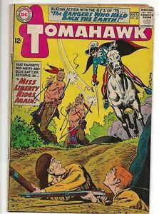 TOMAHAWK Comics #88 DC, Sept-Oct 1963 MISS LIBERTY 2ND APPEARANCE