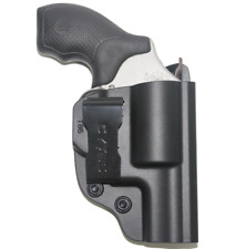 Polymer IWB Conceal Gun Holster For Smith & Wesson Airweight 38 Special Revolver