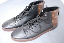 $745 LOUIS VUITTON men's Line Up Monogram sneakers boots shoes LV 10  US 11.5 12