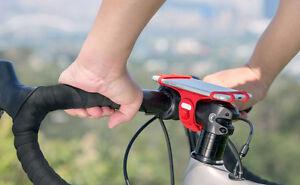 """Bicycle Bike Tie Pro Mount for Smart Phones size 4"""" to 6"""" Universal Biketiepro"""