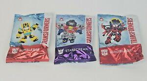 Wendy's Kids Meal Transformers Action Figures Bumblebee, Starscream, & Windblade