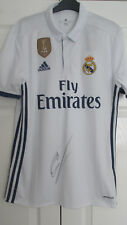 Signed CRISTIANO RONALDO Real Madrid 2016/17 home Shirt with Proof! PORTUGAL