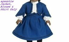 New American Girl Addy 3 Pieces SCHOOL SUIT OUTFIT - JACKET, BLOUSE & SKIRT ONLY