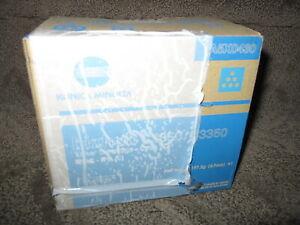Konica Minolta Bizhub C3850 C350 Cyan Toner Cartridge A5X0430 TNP48C Genuine