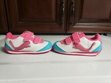 Little Girls Light up Puma Gym Shoes Size Us 7 Pink Blue White
