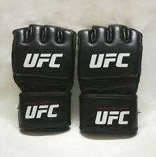 UFC MMA Black Fighting Boxing Leather Gloves made in pakistan