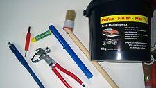 5kg Reifenmontagepaste SCHWARZ Ventildreher Ventileinzieher Kreide Auswuchtzange