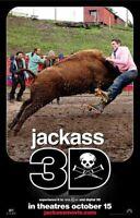 Jackass 3D Plakat Zweiseitig Advance Original Filmposter