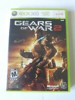 Gears Of War 2 Microsoft Xbox 360 Game 2008 COMPLETE Very Good Condition