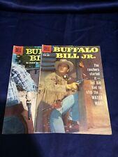 Buffalo Bill Jr. Comics Dell Comics #7, #11 Lot of 2