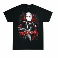Suicide Squad Deadshot Bullet Holes Licensed Adult T-Shirt