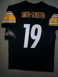 (2020-2021) Steelers JUJU SMITH-SCHUSTER nfl Jersey YOUTH KIDS BOYS (s-sm-small)