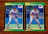 1989 Donruss Edgar Martinez RC - Mariners (2)