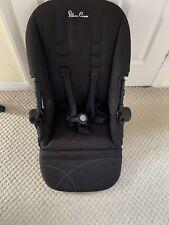 Silver Cross Wayfarer / Pioneer Seat Unit Full Harness - Black