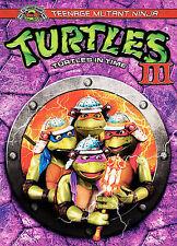 Teenage Mutant Ninja Turtles III, DVD, Elias Koteas, Vivian Wu, Stuart Wilson, M