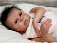 Studio-Doll Baby  Reborn  GIRL CLARA by EVA BRILLI so real  18""