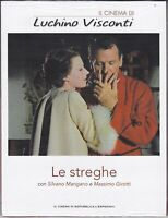 Dvd LE STREGHE di Luchino Visconti Clint Eastwood Totò Sordi Mangano Pasolini 67