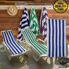 2 Piece Luxury Pool Towel Bathroom Sheet Bale Set Soft Egyptian Cotton 450 GSM