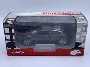 Welly ALDI Auto Club 1:32 Black Audi R8 V10 Diecast Pull Back vehicle car